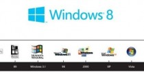 Semplicità per logo Windows 8