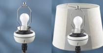 Speaker invisibili nelle lampade