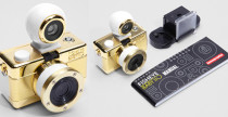Lomography Fisheye Baby 110 Gold