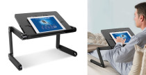 Variable tablet stand