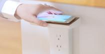 WallJax per ricaricare lo smartphone senza fili