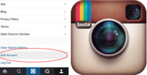 Instagram, ecco gli account multipli