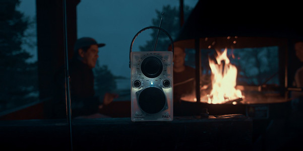 Radio Bluetooth PALBT Glo con luce inclusa