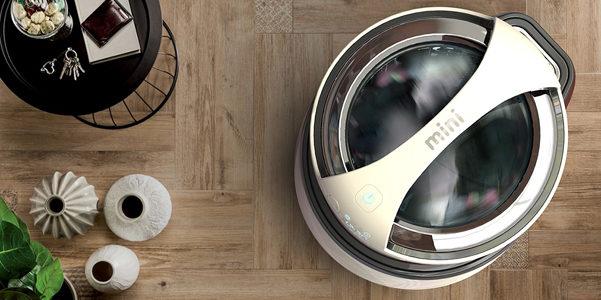 Mini lavatrice per single