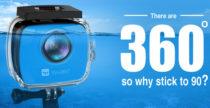 Fotocamera Activ 360-degree di Vyu360