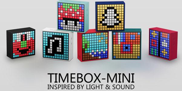 Divoom Timebox Mini, speakers con pixel art