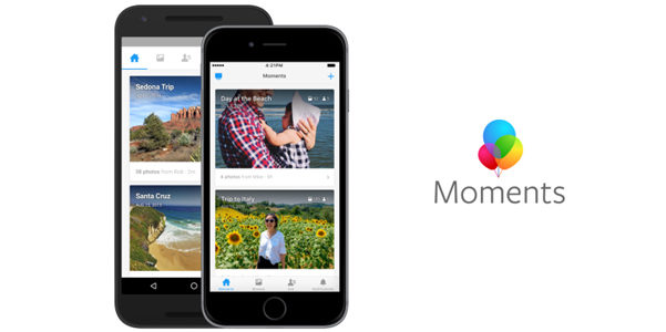 Facebook Moments diventa un sito a parte
