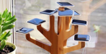 Solar Suntree, un bonsai che ricarica i device
