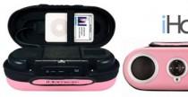 iHome19: Speaker rosa per iPod