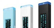 Samsung YP-U3 DAP, tonalità baby blue