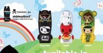 Tokidoki firma le nuove Mimobot