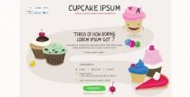 Cupcake Ipsum, generatore di testo dolce