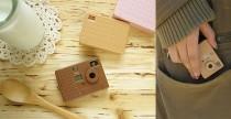 Fotocamera Biscuit come un portachiavi