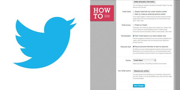 archivio Twitter