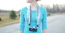 Una sciarpa per la fotocamera