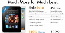 Amazon Kindle vs. iPad Mini
