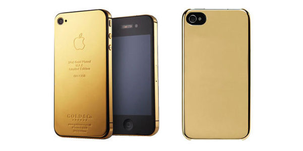 custodia iphone se oro