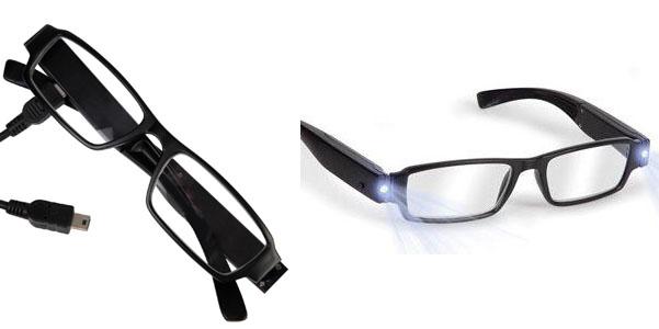 occhiali luci led