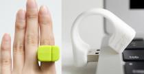 Memoring di Mollaspace USB al dito