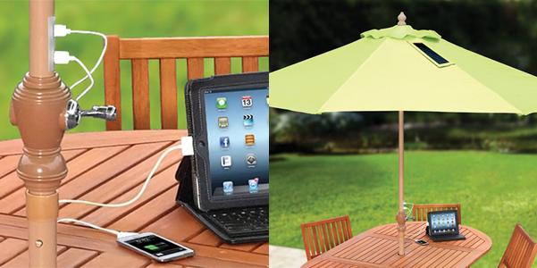 ombrellone giardino USB