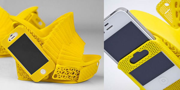 iPhone shoe