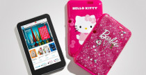 Tablet Hello Kitty e Barbie