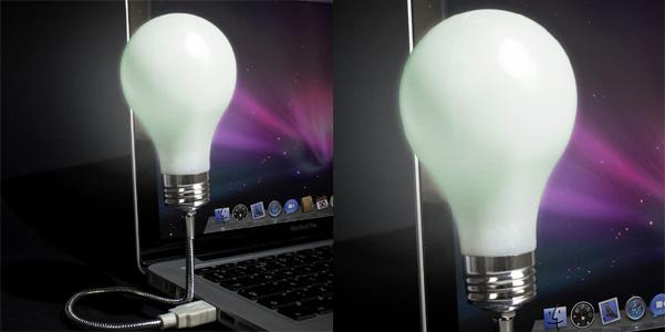 lampada usb Bright Idea