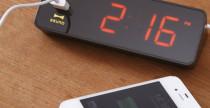 Led Alarm Clock ricarica il telefono