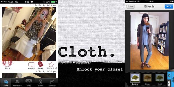 App guardaroba Cloth