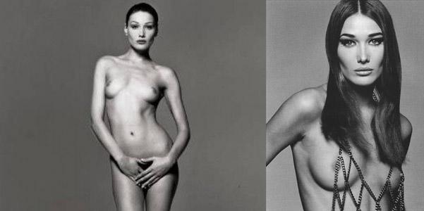 Carla Bruni nuda