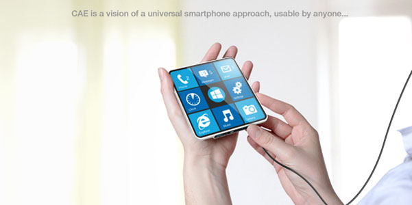 Cae Blind smartphone