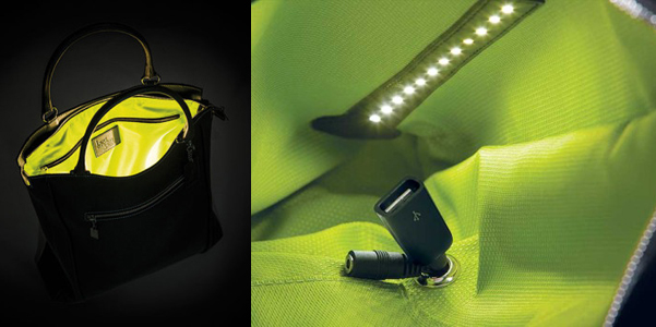 led emotion design bag