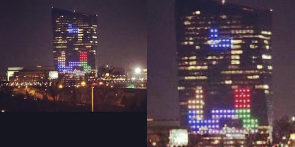 Tetris grattacielo