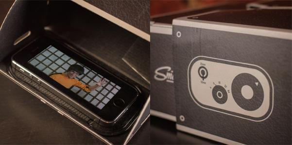 proiettore smartphone