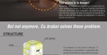 caricabatterie cubreaker