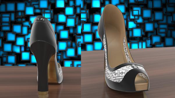 scarpe e-ink