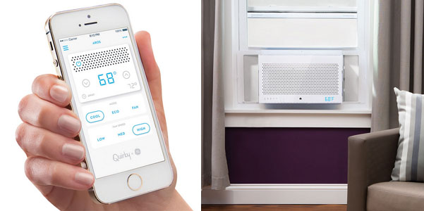 smartphone controlled air conditioner