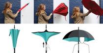 KazBrella, l'ombrello inside out