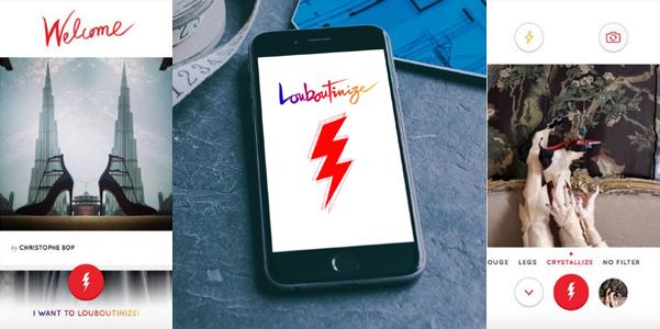 app louboutinize