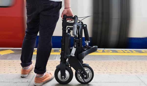 bicicletta elettrica pieghevole a-bike