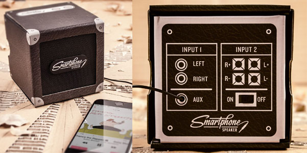 cardboard smartphone speaker