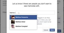 Rimuovere i ricordi su Facebook