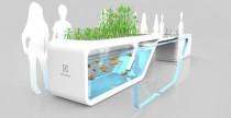 Future Kitchen, la cucina sostenibile con piante e pesci