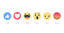 Le nuove emoticon di Facebook: non solo Mi piace