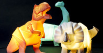 Dino lamps, le lampade a forma di dinosauro