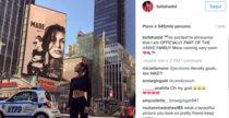 Bella Hadid e il meta-selfie