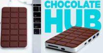 Chocolate Hub, ricarica wireless al sapor di cioccolato