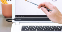 AirBar, lo schermo del Macbook Pro diventa touch