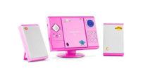Mini impianto stereo OneConcept rosa
