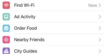 Ordinare cibo via Facebook